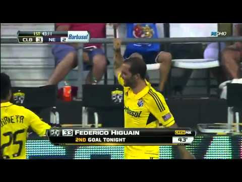 Federico Higuaín, jugador de la semana en la MLS
