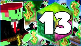 """CRAZIEST AUCTION BID EVER"" - SKYBLOCK CHALLENGE - Episode 13"