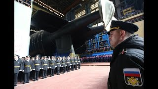 Russia launches new submarine that carries Poseidon nuclear torpedos