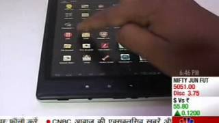 7 4 TabTop   14Jun12 MILAGROW TechGuru CNBCAwaaz 06 48pm 2 51min