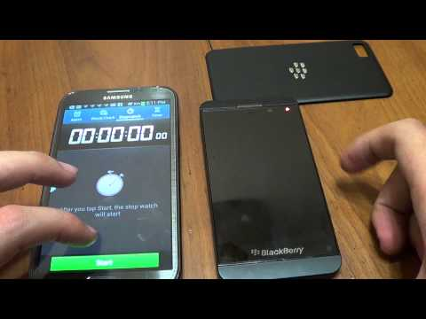 Boot Screen on BlackBerry 10