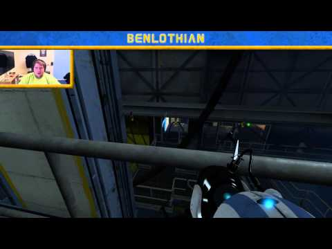 Portal 2 with Andy - Oscar Pistorius and Wayne Rooney (Live RAW Archive)