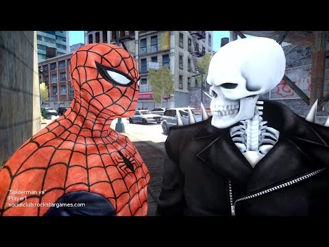 Spiderman vs Ghost Rider - Spider man