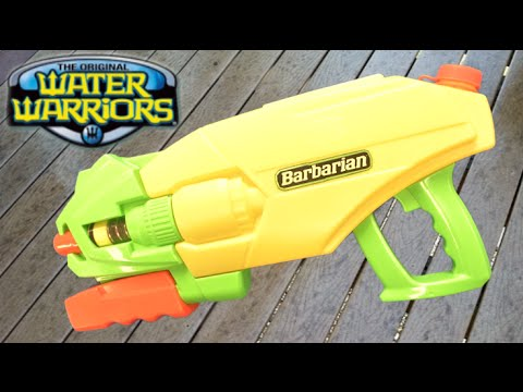 Water Warriors Power Pump Barbarian from Buzz Bee Toys