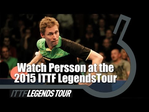 Watch Persson at the ITTF 2015 Legends Tour