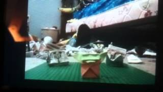 Origami Star Wars Harlem Shake