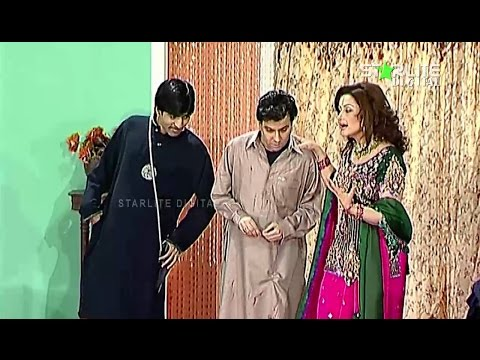 Hussan Meri Majbori Nargis New Pakistani Stage Drama Full Comedy Funny Play
