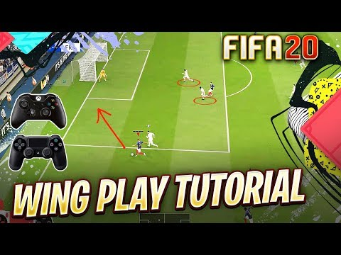 FIFA 20 ATTACKING TUTORIAL - MOST EFFECTIVE TRICKS TO ATTACK FROM THE WING in FIFA 20