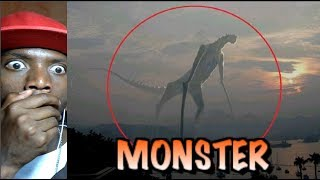 TRY NOT TO GET SCARED AT THESE 5 Mysterious Creatures Caught on Camera