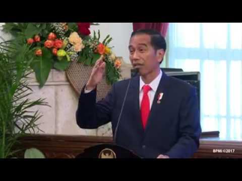 Pidato Presiden Jokowi Memacu Para Mentri Untuk Indonesia Raya Lebih Baik