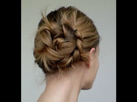 Braided Messy Side Bun Tutorial