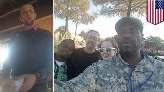 Racism at Chili's: Black veteran has free meal revoked after Trump supporter complaint - TomoNews