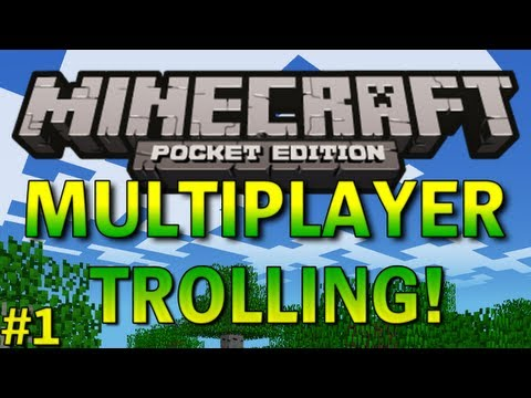Multiplayer Trolling 1 - Minecraft Pocket Edition