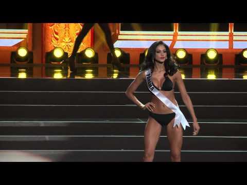 Presentación de Miss Panamá, Carolina Brid, en la preliminar del Miss Universo 2013