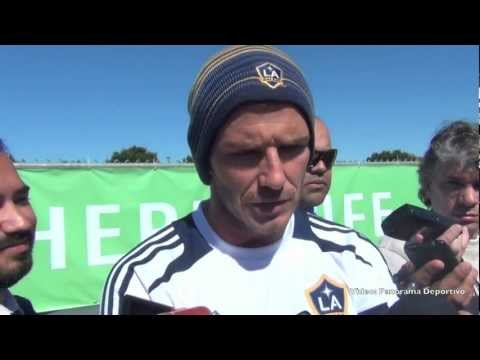 David Beckham talks about Capello departure 2-16-12