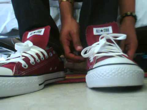 converse all star chuck taylor burgundy unboxing youtube