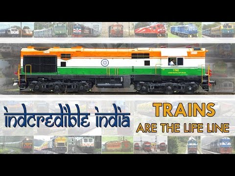 TRAINS are the LIFE Line : INCREDIBLE Indian Railways