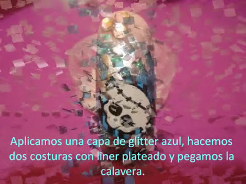 Uñas de acrilico Monster high