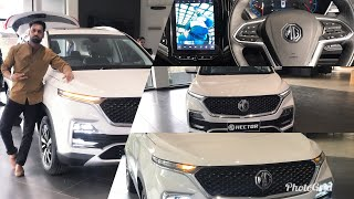 MG HECTOR SHARP VARIANT | A HUMAN TOUCH | WALKAROUND | IN DETAIL