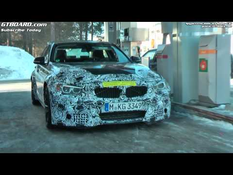 F30 BMW M3 spied + M5 F10 in Northern Sweden
