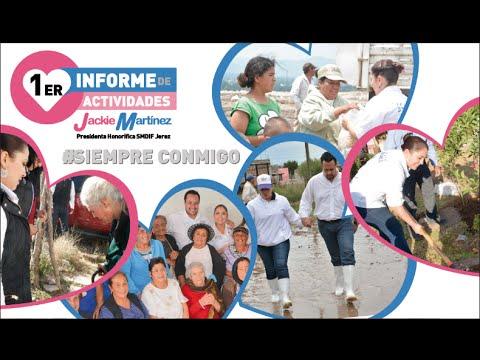 DIF JEREZ - 1er Informe de actividades