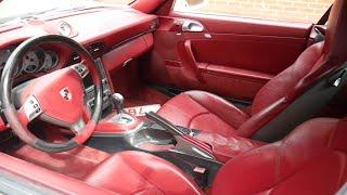 PORSCHE 911 CARRERA 4S-RED INTERIOR LHD-USA SPEC / AUTOMOTIVE