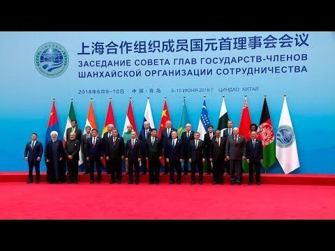 Лукашенко принимает участие в саммите ШОС в Циндао