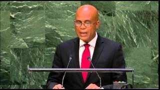VIDEO: Diskou President Martelly - Assemblee National Nation Unis 2014
