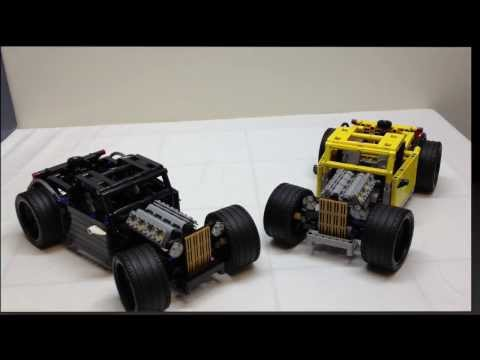 LEGO Technic Custom Chopped Hotrod Review