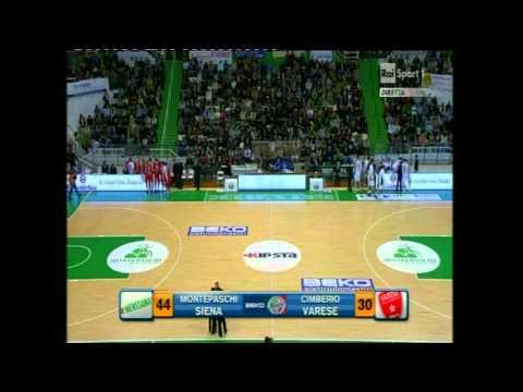 Montepaschi Siena vs. Cimberio Varese (Lega Basket A # Giornata 18 # 03/02/2013)