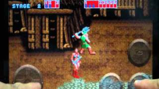 iPhone GOLDEN AXE multi play video