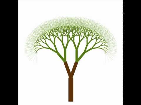 Canvas Turtle - Growing tree