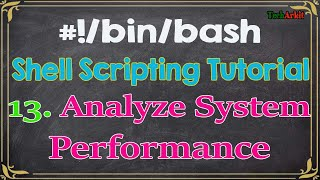 Shell Scripting Tutorial-13 top command analyzing system performance