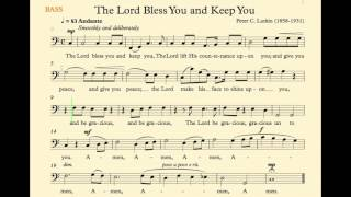 The Lord Bless You And Keep You Lutkin Bass Track