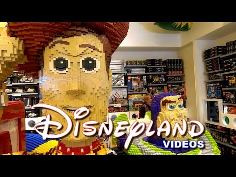 Lego Store au Disney Village - Disneyland Paris (mars 2014) HD