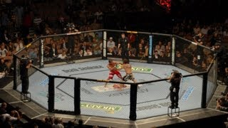 UFC 143 Nick Diaz vs Carlos Condit FULL FIGHT ANALYSIS Machinima REVIEW