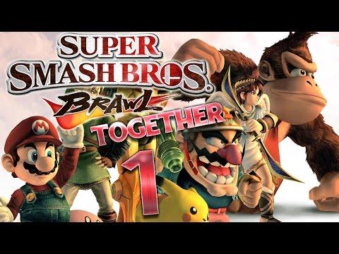 Let's Play Super Smash Bros. Brawl Part 1: Mit Juli durch den Subraum-Emissär