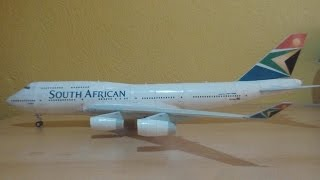 South African 747-400 Papercraft