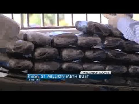 Narcotics bust nets $1M in drug value