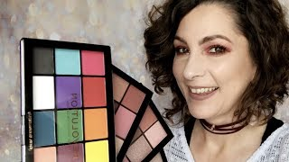 New Revolution Re-Loaded Palettes / Testing Provocative