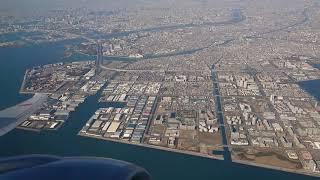 ANA B777ー300ER 羽田空港 離陸 C滑走路 NH110 ニューヨーク行き@2019.01.01