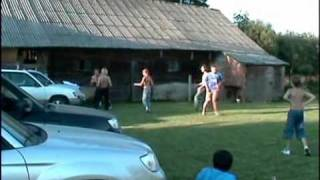 The first grand meet of foresterclub.lt with Forester. Part 4. People playing