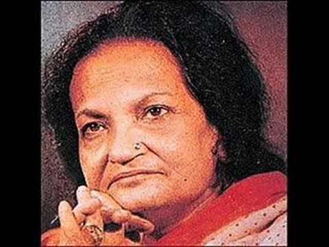 Begum Akhtar - itna to zindagi mein