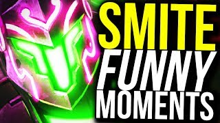 WHAT DID I DO TO DESERVE THIS? (Smite Funny Moments)