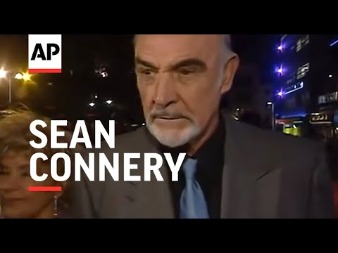 Sean Connery being rude and aggressive
