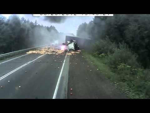 Авария на трассе M5 Уфа Челябинск
