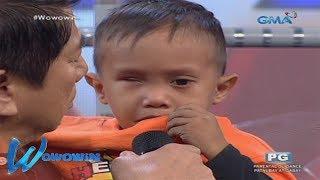 Wowowin: Hiling ng batang may karamdaman, tinupad ni Kuya Wil