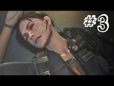 Resident Evil Revelations Gameplay Walkthrough Part 3 - Double Mystery - Campaign Episode 2