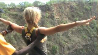Bungee Jumping at Victoria Falls Pt 1
