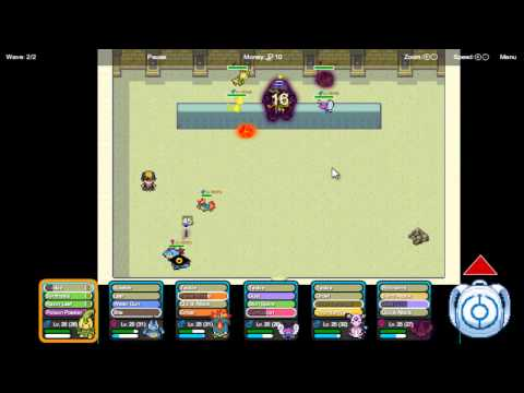 Pokemon Tower Defence 2 part 13 - Shadow Entei in the Ruins of Alph